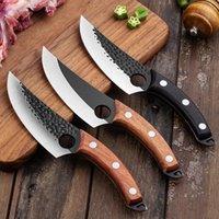 주방 다기능 단조 망치 곡물 주방 칼 물고기 절단 고기 스테인레스 스틸 선택 BD100을 선택하는 세 가지 스타일
