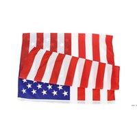 Amerikanische Stars und Stripes Flaggen USA Präsidentschaftskampagne Banner Flagge für Präsident Kampagnen Banner 90 * 150cm Gartenflaggen DHF5798