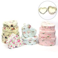 Florist Hat Boxes Heart Shaped Box Candy Set Of 3 Gift Packaging For Gifts Christmas Flowers Living Vase Wrap