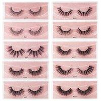 3D Thick Eyelashes Imitation Mink Lash #300 1 Pair Each Long Wholesale Beauty Tools Makeup Artificial Lashes