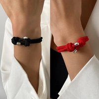 Charm Bracelets Red String For Protection Good Luck Amulet Success Prosperity Handmade Rope Lucky Bangles Gifts 1x