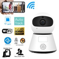 Cameras Wireless Camera 1080P Wifi Movetion Detection Infrared Smart Robot 360° Rotating Cloud Service Home Security Webcam