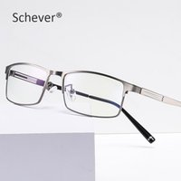 Schever Marke Herren Luxus Business Gläser Anti Blue Licht Optische Brillen mit Rezept Linse Computer Spiel Eyewear Männliche Mode Sonne