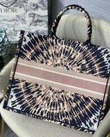 النساء المصممين الفاخرة حقائب 2021 حقيبة الشاطئ حقيبة يد الأزياء عالية الجودة سعة كبيرة التطريز الحرفية اختيار متعدد الألوان دعم شخصية