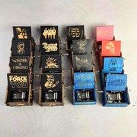 크리 에이 티브 클래식 목조 음악 상자 모든 종류의 그림 흔들리는 동기 부여 해리 포터 장식품 음악 상자 AHC6898