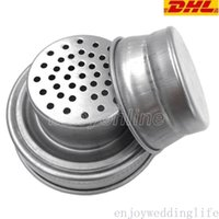 Mason Jar Shaker Lids Stainless Steel cover for Regular Mouth Mason Canning Jars Rust Proof Cocktail Shaker Dry Rub Cocktail 70mm
