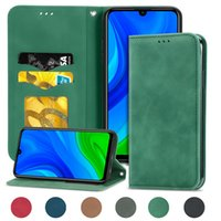 Mobile Phone Case For Huawei P Smart Plus S Z 2019 2020 2021 P20 P30 P40 Lite Pro Made of PU Leather with Magnetic Buckle