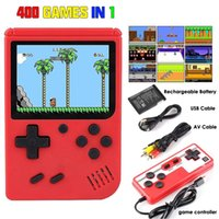 Inch Retro 400 Games In 1 Support TV Connection Two Player Gamepads Portable Gameplayer For Childhood Memor Players Game