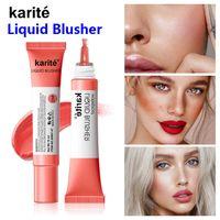 Kiss Beauty Blush Жидкая Blusher Долговеднее Легкости 15 мл Естественное Неколоризация