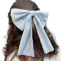 Süße Netz Garn Bogen Haarnadel Mesh Große Bowknot Ribbon Haarband Clip Headwear Haarschmuck Für Mädchen Frauen Haarspange Frühling