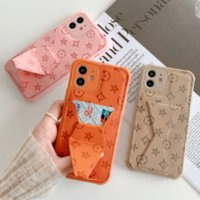 Vintage Geometric Flower Leather Wallet Mobile Phone Cases For iPhone 13Pro 12 11 XS Max 7 8Plus Card Holder Pocket Stand Soft Cover