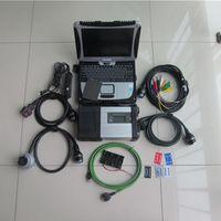 Diagnostic Tools MB Star C5 2021 SD Connect With Est Software V2021.3 Tool V5.01 X DSA DTS8.14 CF19 Laptop