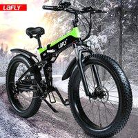 Bicicletta elettrica 1000W Pneumatico grasso Bike elettrico 48 V Adulto Ebike Mountain Bicycling Bicycle 48v12.8ah Batteria al litio Lavallo