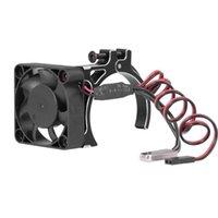 Sıcaklık Sensörü ile Metal Klip Radyatör Soğutma Fanı Uzaktan Kumanda Araba Aksesuarları için 4268-4274 Motor Laptop Pedleri