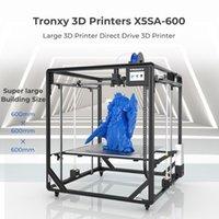 X5SA-600 grande stampa Dimensione 600 * 600mm Guida aggiornata Versione guidata Titan Estrusore Sensore a livello automatico Stampanti ad alta precisione