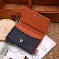 Wallets Men Leather Coin Purse Card Cash Change Receipt Holder Organizer Mini Zipper Money Bags Bifold Wallet