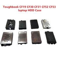Toughbook CF19 محرك الأقراص الصلبة SATA HDD CADDY LAPTOP CF-19 CF30 CF31 CF52 CF53 CF53 SATA HDD Hard Drive Case Case مع محول كابل