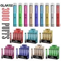 Authentic Glamee Mate Dispositivo di pod monouso 3000Puffs 1800Mah Batteria 9ML Premilled Vapor BAR Stick Pen Pen Starter Kit vs Glamee Nova Bang XXL
