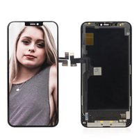 Factory_OLED cell phone screens replacement lcd for iphoneX panel foriphone X XS display screen digitizer No Dead Pixel sublimation Free DHL shippin