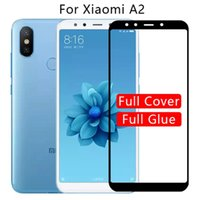 Cell Phone Screen Protectors 3D Tempered Glass for xiaomi MiA2 mi a2 lite Full Cover Protector