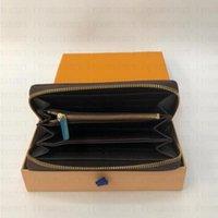 """Womens Brand Bag Louis """"Vitton Designer verkaufen KOSTENLOS HEISS Pick) L833 Versand für den Einzelhandel 2021 PU-Ledermänner QQ2 Womens Brieftaschen Geldbörse NQLV"""