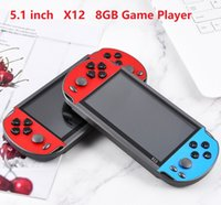 X12 Handheld Game Player 8GB Memory Portable Video Game Consoles with 5.1 inch Color Screen Display Support TF Card 32gb MP4 5 Player