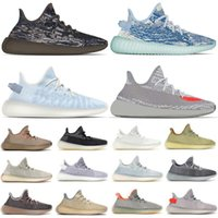 Top Quality Running Shoes Big Size Us 13 Womens Mens Mono Clay Ice MX Oat Rock Trainers Fade Ash Pearl Zebra Asriel Beluga Reflective Earth Sports Sneakers Eur 36-48