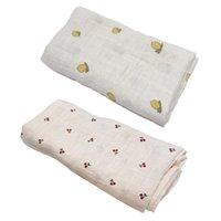 Blankets & Swaddling Baby Infant Blanket Swaddle Born Soft Organic Gauze Sleeping Wrap Bath Towel Bedding Stroller Sleepsack