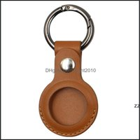 Event Festive Supplies Home & Gardenleather Keychain Party Favor Anti-Lost Airtag Protector Bag All-Inclusive Key Chain Locator Individually