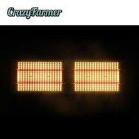 Geeklight 240w Crazy Farmer Quantum Led Planche d'éclairage Samsung LM301B LM301H Spectrum complet Lampes de plantes Preasplais