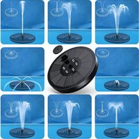 Solar Lamps LED Outdoor Colorful Lights For Water Fountain Pump Luminous Garden Floating Swimming Pools Pond Lawn