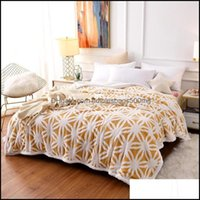 Textiles Home & Gardensoft Warm Coral Fleece Blanket Winter Sheet Bedspread Sofa Throw Light Thin Mechanical Wash Flannel Blankets For Beds