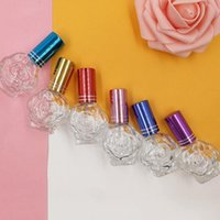 Storage Bottles & Jars 3pc lot Spray Bottle 11ml Empty Cosmetic Makeup Containers Rose Portable Glass Travel Atomizer Perfume