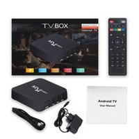 4K HD 3D TV Box Android Smart TV-Box 2.4G WiFi WLAN Home Remote Control Google Play Youtube Media Player Set Top Boxes 4GB RAM 32 64G