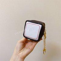المصممين الفاخرة حقائب dichromatis سلاسل المفاتيح M80231 لعبة على مكعب محفظة سلسلة مع السنانير سستة إغلاق أكياس مخلب أزياء السيدات Handbag919