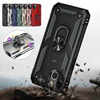 Shockproof Armor Case For iPhone 13 12 11 Pro XS Max X XR 6 6S 7 8 Plus SE 2 mini Car Magnetic Suction Ring Holder Phone Cover