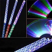 LED Magic Wand Color Changing Flash Torch Party Concert Glow Light Stick Lightsaber Perfect Gift NSV775 H0928