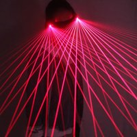 Red Laser Glasses 650nm LED Gloves For Pub Club DJ Shows With Stage Party Decoration