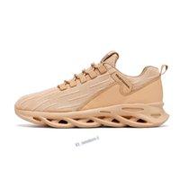 Calidad de la mejor calidad Zapatos transpirables livianos cómodos Zapatillas de deporte Hombres antideslizantes Resistente al desgaste Ideal para correr Actividades para correr y deportes-14