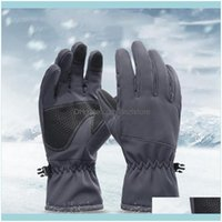 Ski Protective Gear Snow & Outdoorsski Gloves Winter Sports Riding Windproof Finger Anti-Splashing Water For Outdoor Climbing Hiking (B Drop