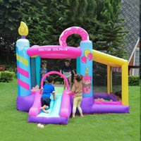 Garden Supplie Cake Commercial Bouncy Castle Small Indoor Inflatable Jumper Jump for Kids Bounce Party House with Blower