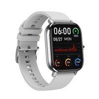 Spor Izci DT35 Artı Akıllı İzle 1.75 Inç Tam Ekran IP67 Su Geçirmez EKG Sağlık Bilezik Bluetooth Çağrı Kalp Hızı Sıcaklığı
