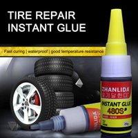 Tinta de reparación de goma de coche super pegamento 480S Sello de altavoz de la ventana Sello Mighty Bike Limpieza de neumáticos