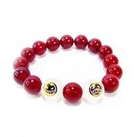 Бисером, пряди Япония кусок влюбленные туз коллекционируемая мода одна цепья аниме черный косплей браслеты бусины портгас рукой d красный