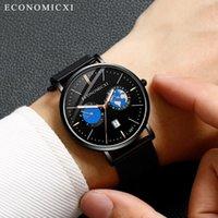 Luxus analoger Quarz Herren Watch Casual Slim Edelstahl Sport Business Handgelenk für Montres Hommes Luxes de Marque Armbanduhren
