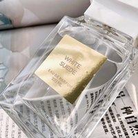 Topkwaliteit Nieuwste Modellen Unisex Parfum Wit Suede 100ml Langdurige Tijd Verbazingwekkende Geur Snelle levering
