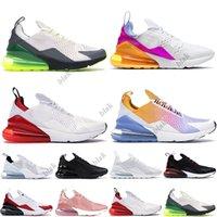 Stock 270s x Sports Sneakers \\rmax\\rmax Running Shoes Platinum Volt triple black Women Mens Trainers