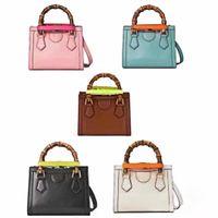 Top Quality Diana Bambu sacola Designers bolsa de couro genuíno bolsas de ombro bolsa de mulheres Moda Pochette