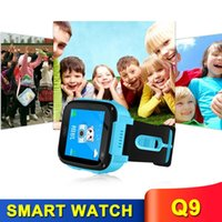 Q9 Smart Watch For Kids Children Anti-lost Smart Watches Smartwatch LBS Tracker Watchs SOS Call For Android IOS Various Colors