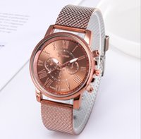 Shshd Brand Geneva Mens Watch Continived двухслойный кварцевые часы пластиковые сетки ремень наручные часы